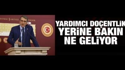 CHP Bursa Mv. Dr. Ceyhun İRGİL, 'Doçentlik Yasa Tasarı' ile ilgili sorulara açıklık getirdi