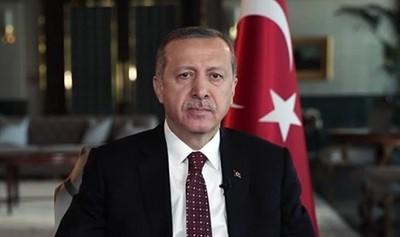 -CUMHURBAŞKANI ERDOĞAN GAZİANTEP'TEKİ SALDIRIYI KINADI