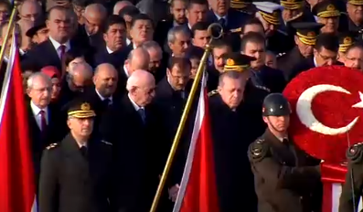-DEVLET ERKANI ANITKABİR'DE