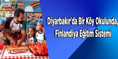 Diyarbakır'da Bir Köy Okulunda, Finlandiya Eğitim Sistemi