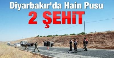 Diyarbakır'daki hain pusu! 2 asker şehit oldu..