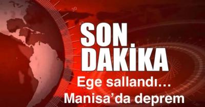 Ege sallandı… Manisa'da deprem