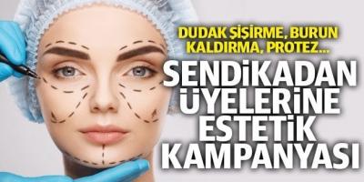 Eğitim Bir-Sen'den indirimli estetik kampanyası