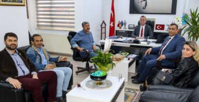 Eğitim-İş'ten Başkan Ayhan'a ziyaret