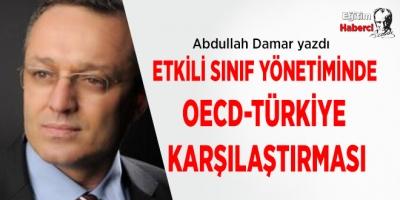 Etkili Sınıf Yönetiminde OECD-Türkiye Karşılaştırması