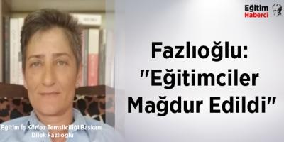 Fazlıoğlu: