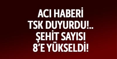 Hakkari Şemdinli'de çatışma, 8 şehit