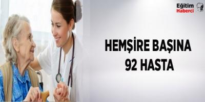 -HEMŞİRE BAŞINA 92 HASTA