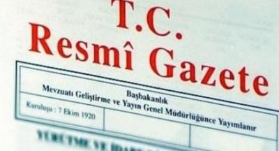 KABİNE REVİZYONU RESMİ GAZETE'DE