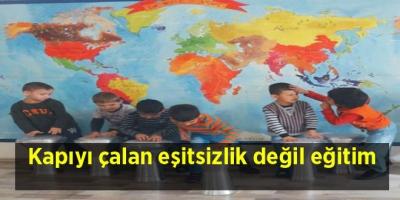 Kapıyı çalan eşitsizlik değil eğitim