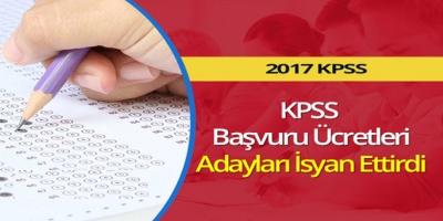 KPSS Başvuru Ücretleri, Adayları İsyan Ettirdi