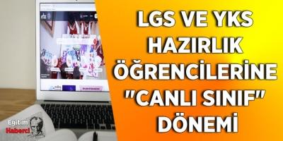 LGS VE YKS HAZIRLIK ÖĞRENCİLERİNE