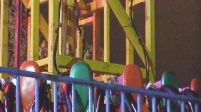Lunaparkta asansör kazası! Metrelerce yukarıdan çakıldılar…