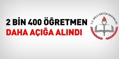 MEB, 2 bin 400 öğretmeni açığa aldı