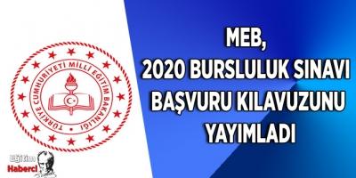 MEB, 2020 bursluluk sınavı başvuru kılavuzunu yayımladı