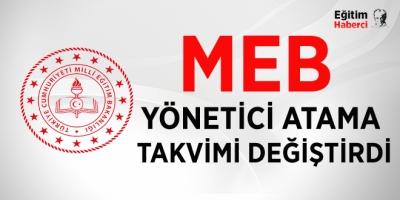 MEB, yönetici görevlendirmeyi Haziran sonuna erteledi