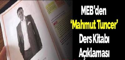MEB'den Mahmut Tuncer ders kitabında açıklaması
