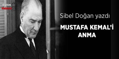 Mustafa Kemal'i Anma