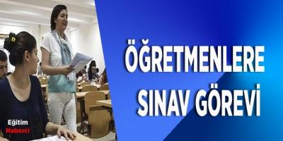Öğretmenlere LGS Sınav Görevi