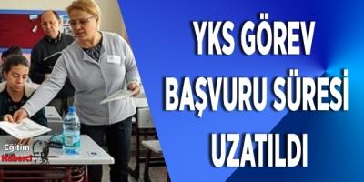 Öğretmenlerin YKS Sınav Görevi Başvuru Süresi Uzatıldı