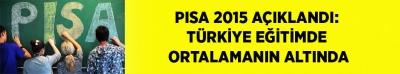 -PISA 2015 AÇIKLANDI: TÜRKİYE EĞİTİMDE ORTALAMANIN ALTINDA, ÖĞRENCİNİN SOSYAL STATÜSÜ/BAŞARI İLİŞKİSİNDE ÜZERİNDE