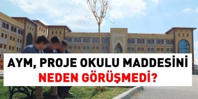 Proje Okulu Davası Anayasa Mahkemesinde mi?