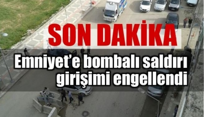 SURUÇ'TA BOMBALI SALDIRI GİRİŞİMİ