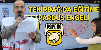 TEKİRDAĞ'DA EĞİTİME PARDUS ENGELİ