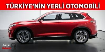 Türkiye'nin yerli elektrikli otomobili tanıtıldı