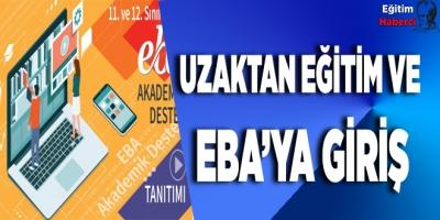 Uzaktan Eğitim ve Eba'ya Giriş
