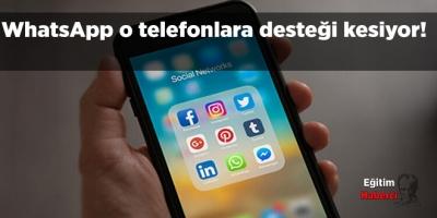 WhatsApp o telefonlara desteği kesiyor!