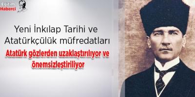 Yeni İnkılap Tarihi ve Atatürkçülük müfredatları
