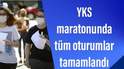 YKS maratonunda tüm oturumlar tamamlandı