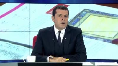 Cüneyt Özdemir'den Osmanlıca haber!