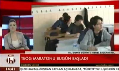 Eğitim İş Genel Başkanı Veli Demir Halk Tv'de Değerlendirmelerde Bulundu