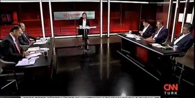 Eğitim İş Sendikası Genel Başkanı Veli DEMİR CNN TURK'te Şirin PAYZIN'ın sunduğu Neler Oluyor programına katıldı