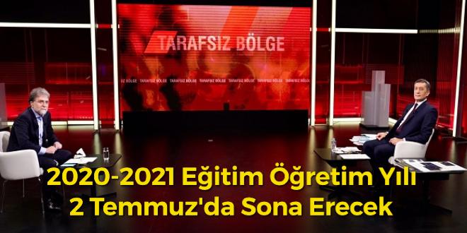 2020-2021 eğitim öğretim yılı 2 Temmuz'da sona erecek