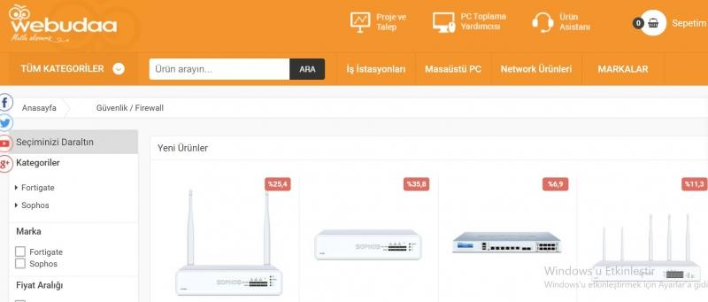 Aradığınız Firewall Fiyatları ve Çeşitlerine Webudaa'da Göz Atın!