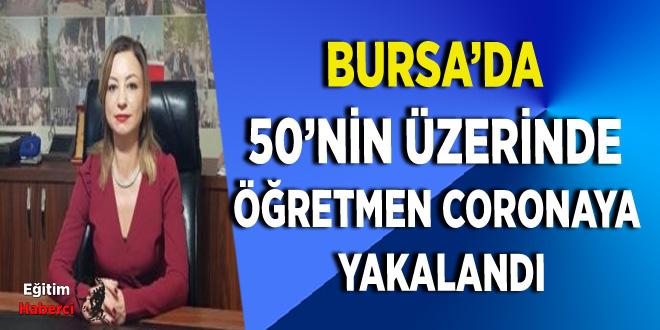 Bursa'da 50'nin üzerinde öğretmen coronaya yakalandı