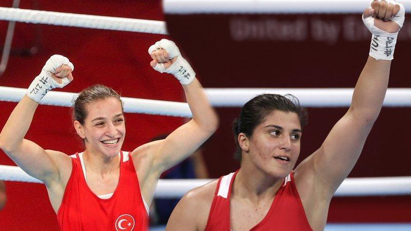 Buse Naz Çakıroğlu ve Busenaz Sürmeneli finalde