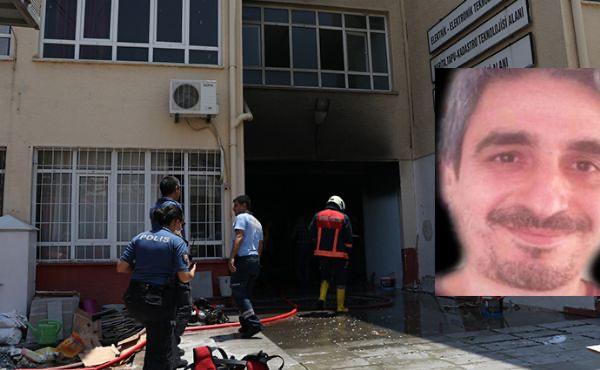 Dezenfektan üretimi sırasında yaralanan öğretmen vefat etti