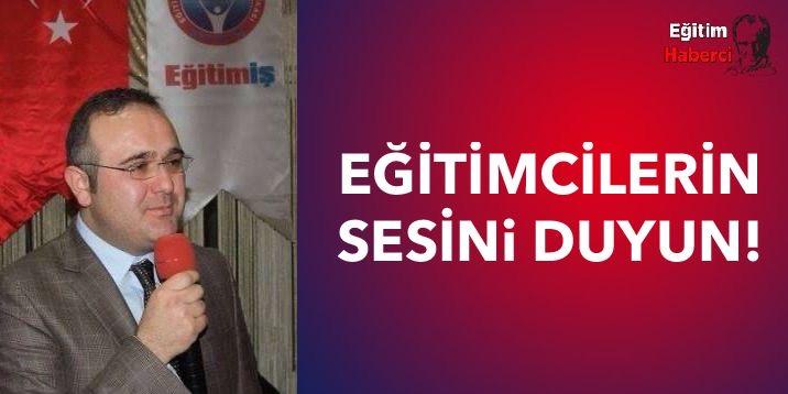 EĞİTİMCİLERİN SESİNi DUYUN!