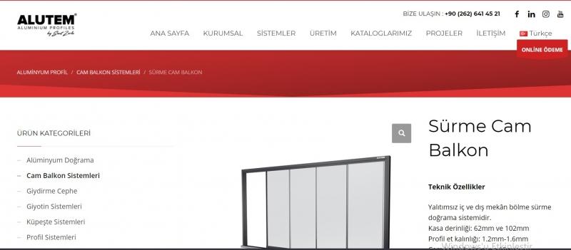 En İyi Sürgülü Cam Balkon Modelleri alutem.com.tr'de Sizlerle!
