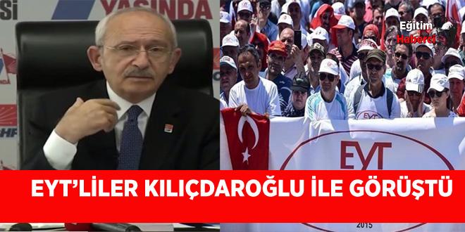 EYT'liler Kılıçdaroğlu ile Görüştü