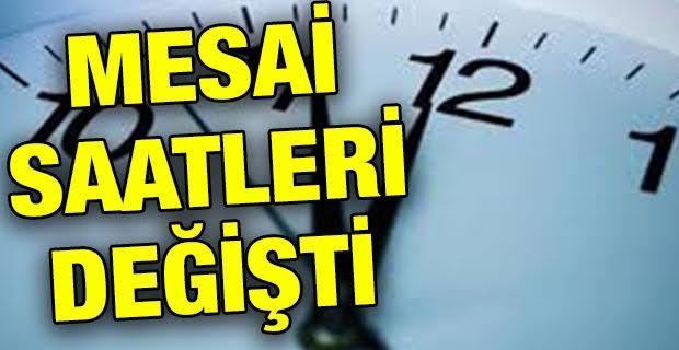 İstanbul'da Kamdemeli Mesai Saatleri Açıklandı