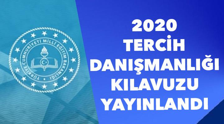MEB 2020 TERCİH DANIŞMANLIĞI KILAVUZU YAYINLANDI