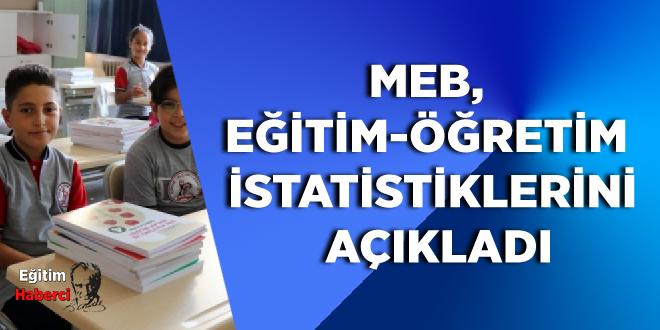 MEB, eğitim-öğretim istatistiklerini açıkladı