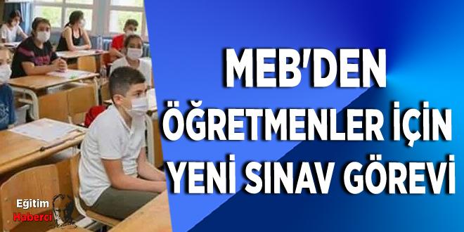 MEB'den Öğretmenler İçin Yeni Sınav Görevi