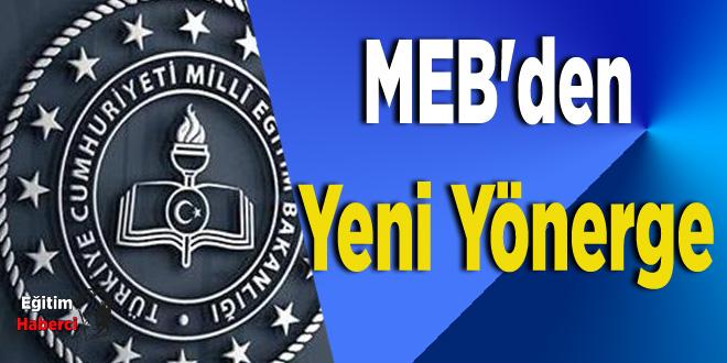 MEB'den Yeni Yönerge