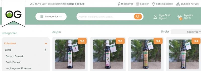 Organik Zeytin Fiyatları İçin www.organikgurmem.com'a Tıklayın!
